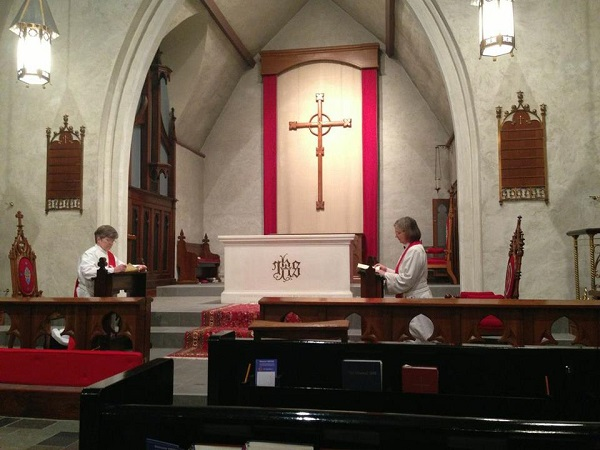 Maundy Thursday 2013–Stripping of Altar