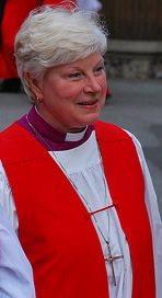 The Right Rev. Catherine (Cate) Maples Waynick, Bishop of Indianapolis.