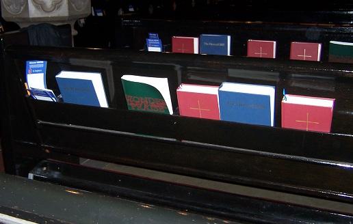 hymnal racks 1