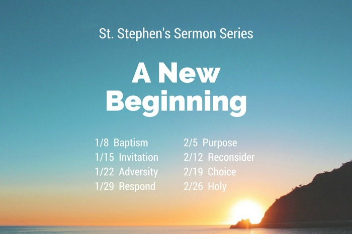 Sermon Series - A New Beginning