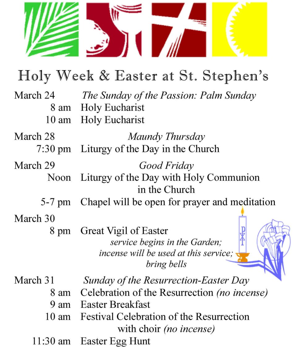 Holy Week-Easter Poster resize